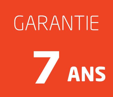 7 ans de garantie