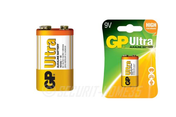 Gp ultra alkaline 9v