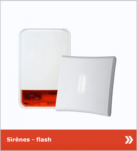 SECURIT-HOME35 - Sirènes flash